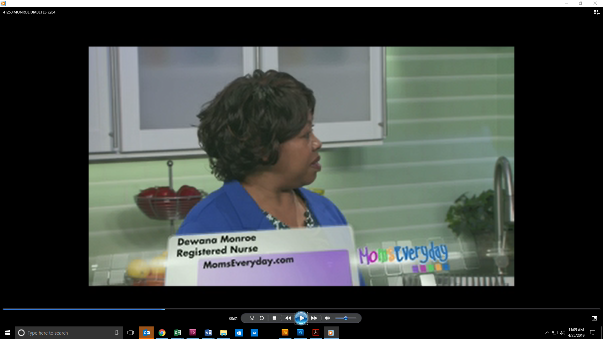Dewana Monroe, RN featured on WCTV
